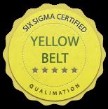 Six Sigma Yellow Belt Logo Qualimations six sigma black belt six sigma ...